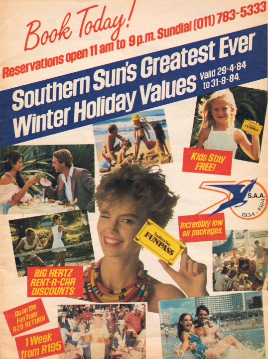 Sunday Times Mag: Southern Sun Winter Holidays