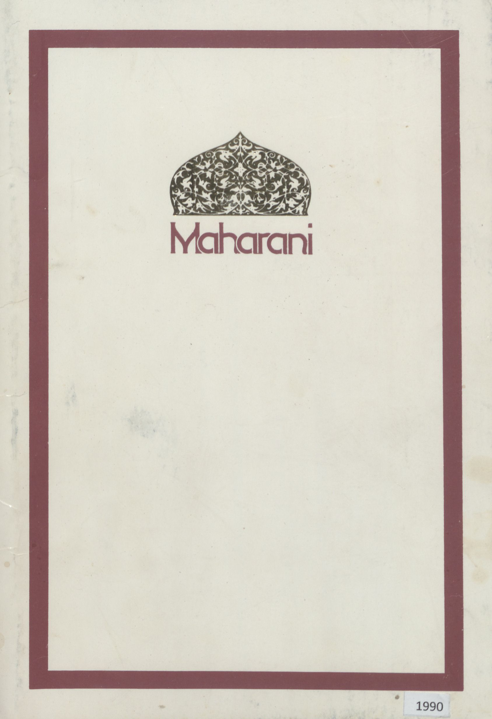 Maharani, Les Saisons Restaurant & Gourmet Wine Evening