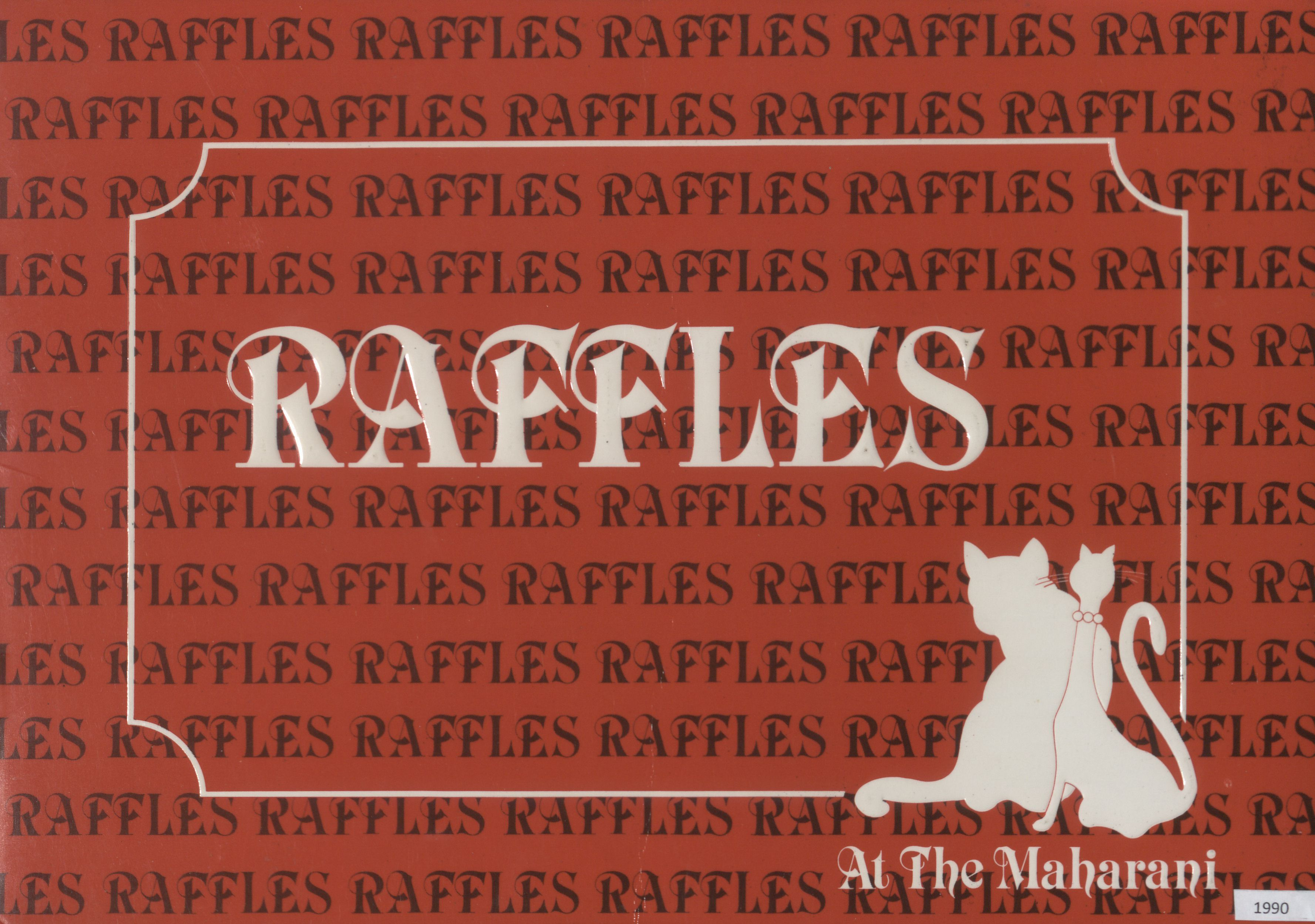 Raffles at the Maharani Lunch Menu