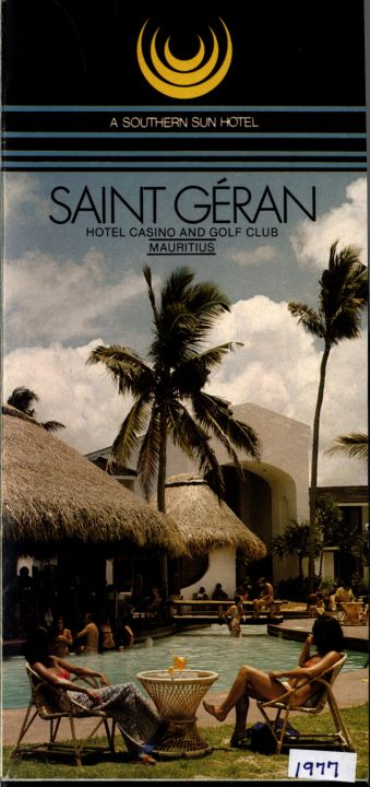 Saint Geran Brochure: Hotel Casino And Golf Club Mauritius