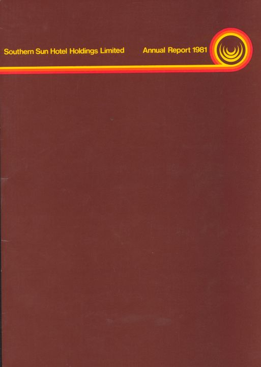 Southern Sun Hotel Holdings Limited - Annual Report 1981