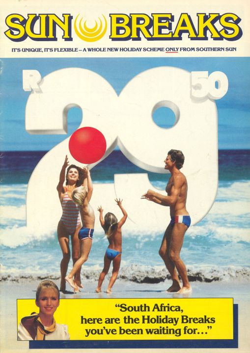 Sunbreaks From Only R26.50 Until December 1986