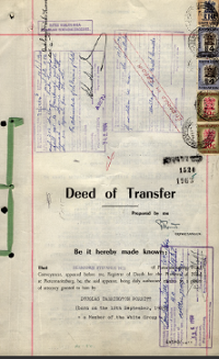Deed Of Transfer,Lot 257 Ext 4