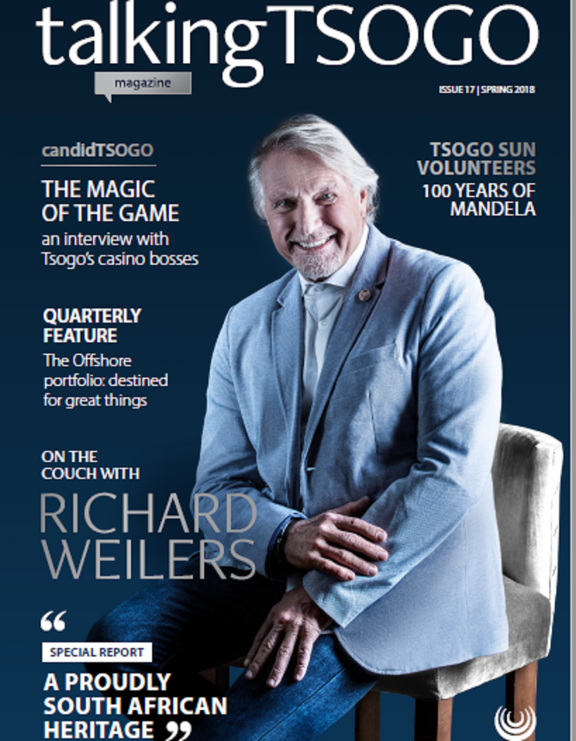 talkingTsogo Issue 17 Heritage, the last issue in its present format